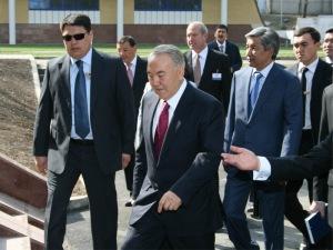 Nazarbayev on campus