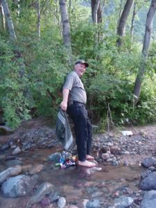 Ken in stream