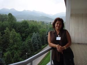 Yelena and view