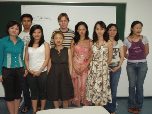Kazakhstani students