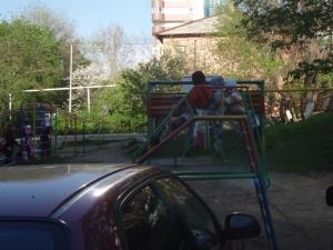 three-on-slide