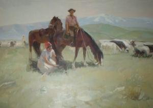 Kazakh scene