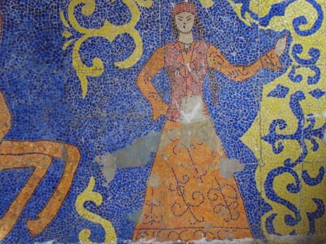 girl mosaic