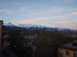 our view of mtns