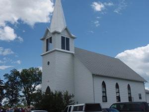 Grandfield church