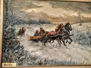Boubin's horse drawn carriage