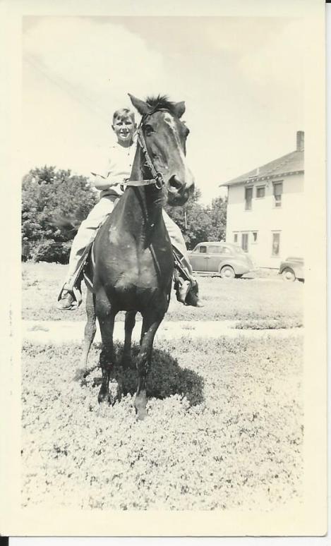 1942 Glen on Trixie