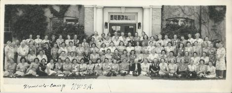 Woman's camp at NWSA around 1950