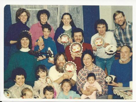 kittykat plates 1988