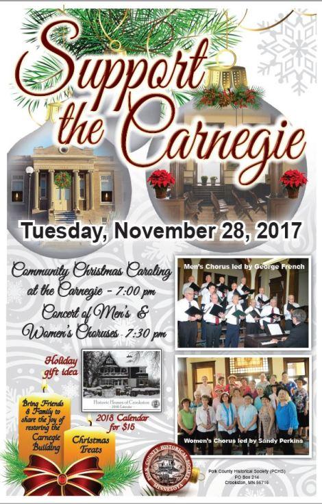 Carnegie Nov. 28 concert