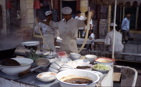 making noodles 1987